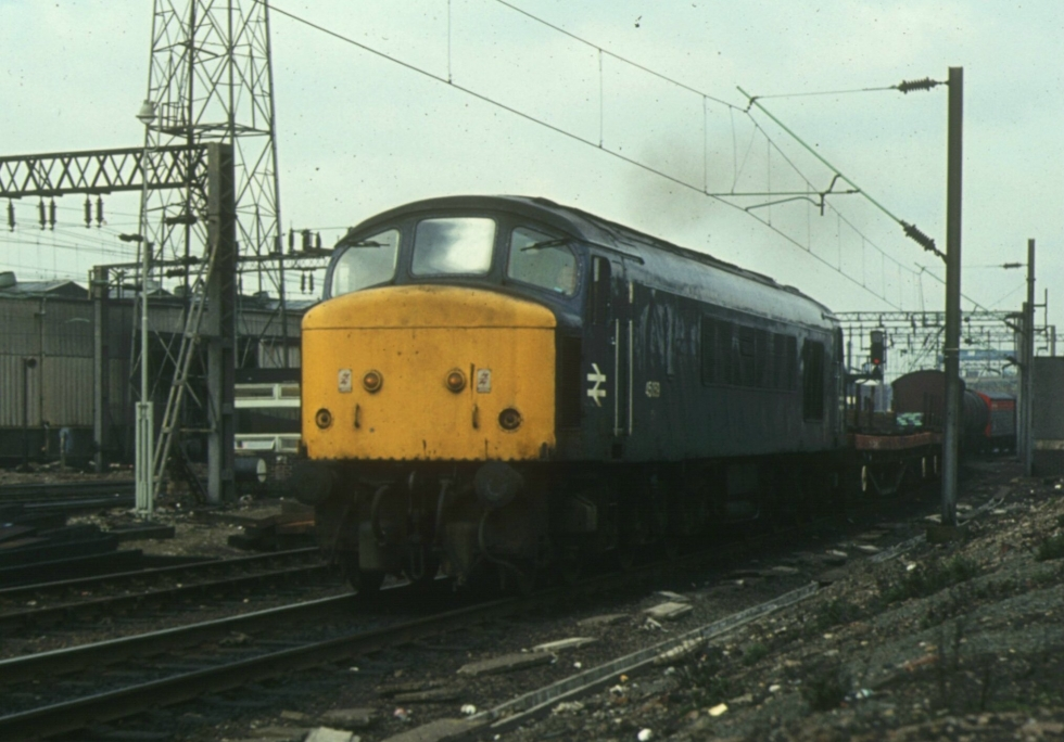 45059 Bescot 10th October 1984