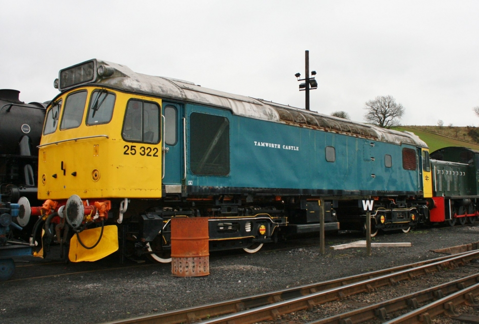 Class 25 at The Churnet Valley Railway