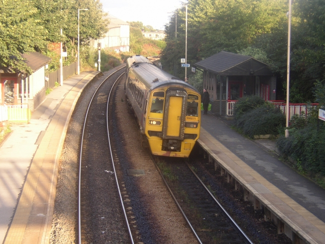 Class 158 at New Pudsey