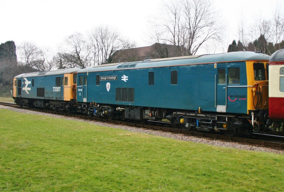 Class 73s on the Bluebell