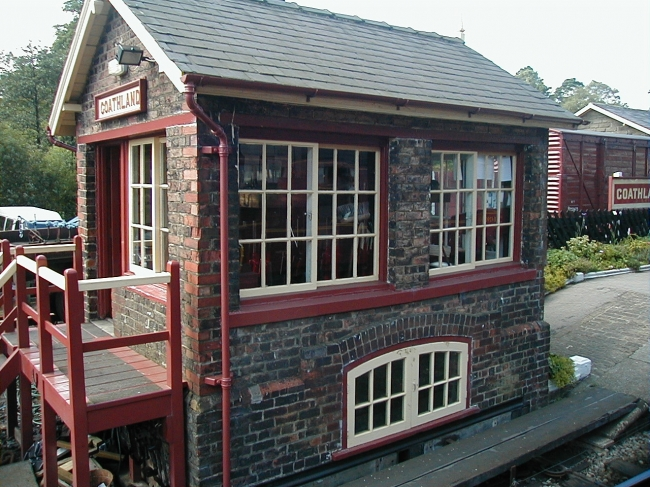 Signal Box at Goathland