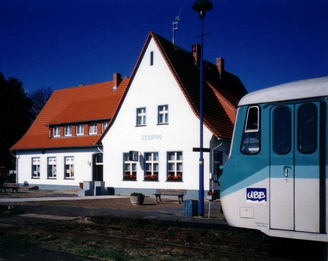 Zempin Station (Usedom Island/ Baltic Sea)