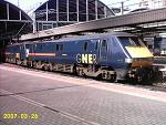 Class 91's at Newcastle