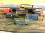 Selection of Diesel Shunters