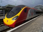 Virgin Trains West Coast Pendolino EMU 390 008