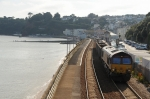 66091 at Dawlish (28/8/08)