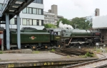 70013 'Oliver Cromwell' pulling out of Southampton