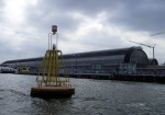 Surrounded by water: Amsterdam Centraal (NL)