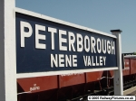 Peterborough Nene Valley Station Sign